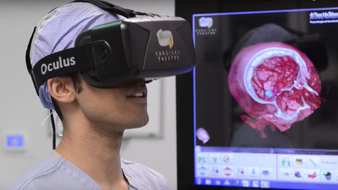 La plataforma de realidad virtual Surgical Theatre le permite a los médicos ver dentro del cerebro y prepararse para la cirugía