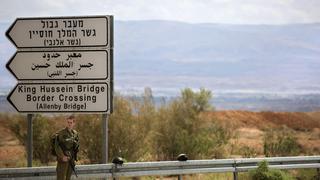 El Puente Allenby, el cruce entre Israel y Jordania.