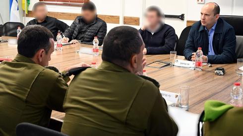 """Bennet se reunió con la División de Gaza de las FDI: """"Tenemos un compromiso con los residentes del sur"""""""