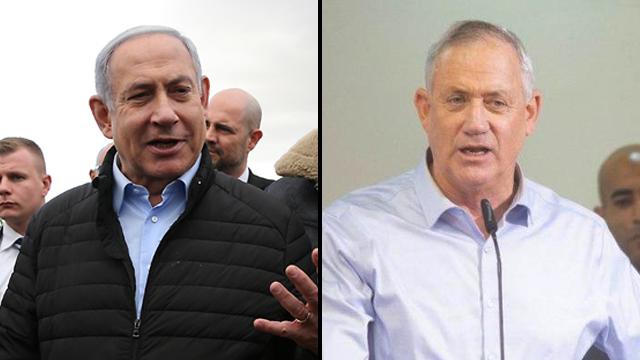 Continúan los cruces entre Netanyahu y Gantz de cara a las próximas elecciones del 2 de marzo