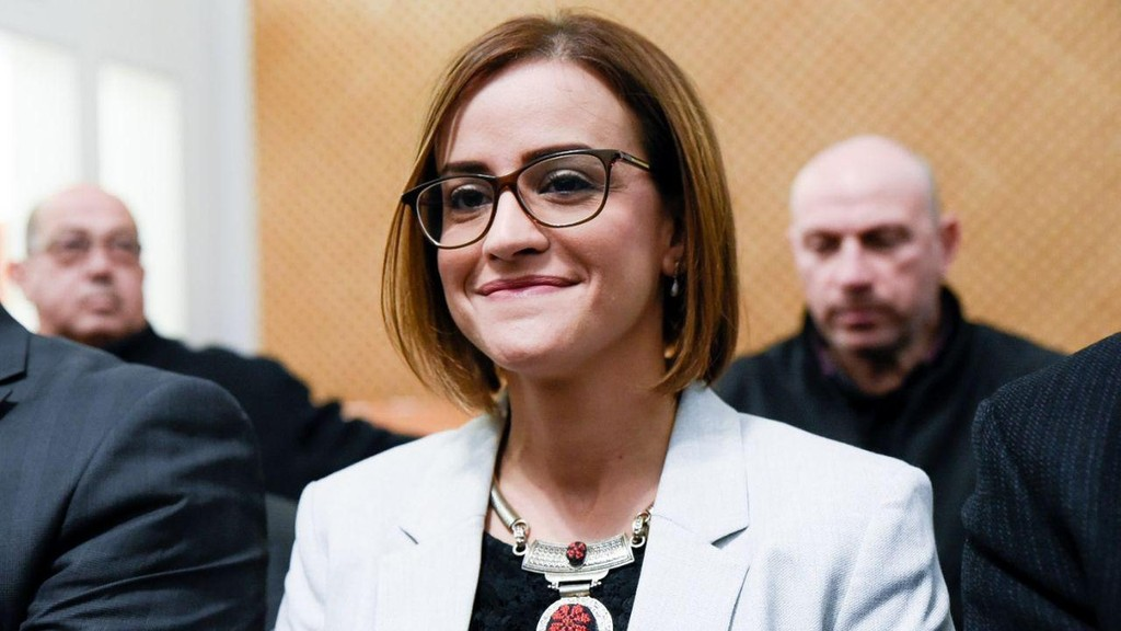 Heba Yazbak, integrante de la Lista Árabe Conjunta