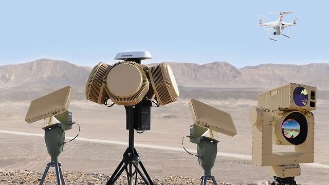 Sistema de defensa contra drones 'Drone Dome'
