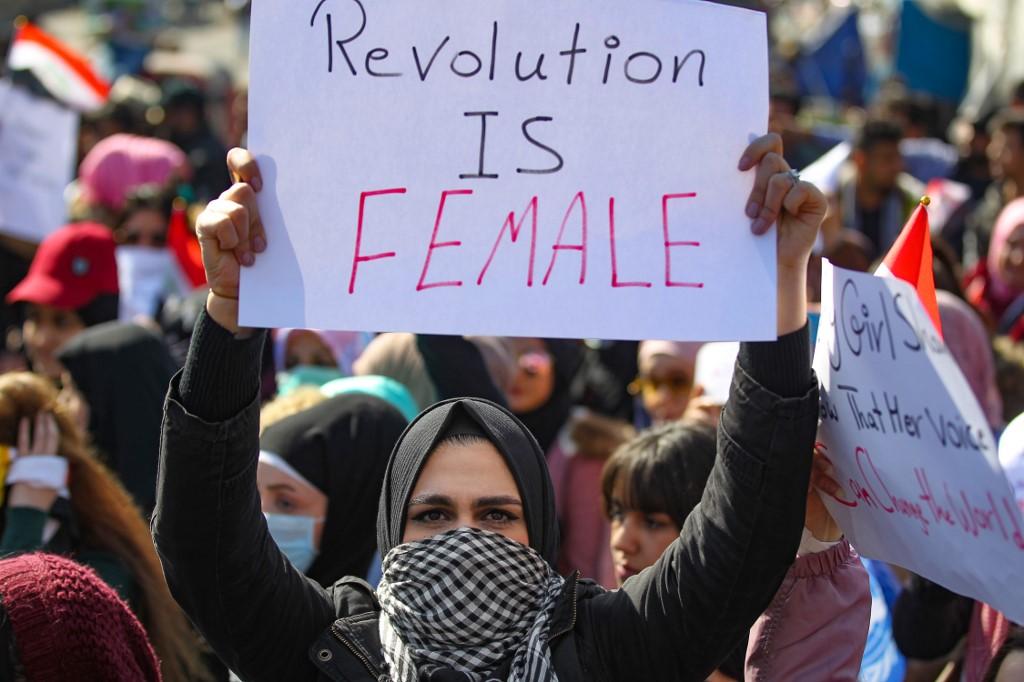 """""""Todos los que quieren sacarnos de las manifestaciones hacen que volvamos aún más numerosos"""""""