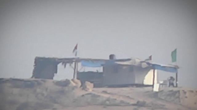 Vigilancia desde los médanos en Gaza