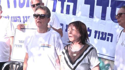 Lea Goldin y Miriam Shaul, madres de los dos combatientes desaparecidos en acción
