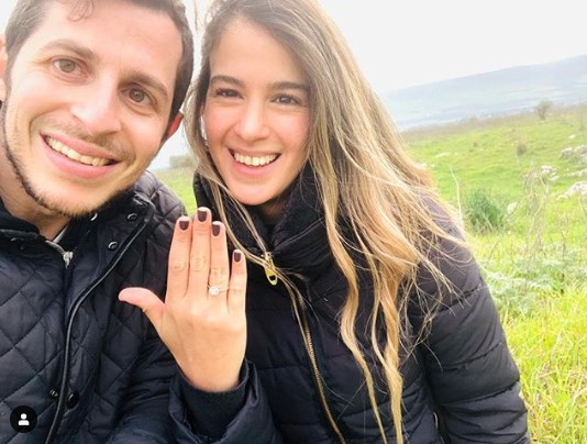 Guilad Shalit se comprometió con su novia