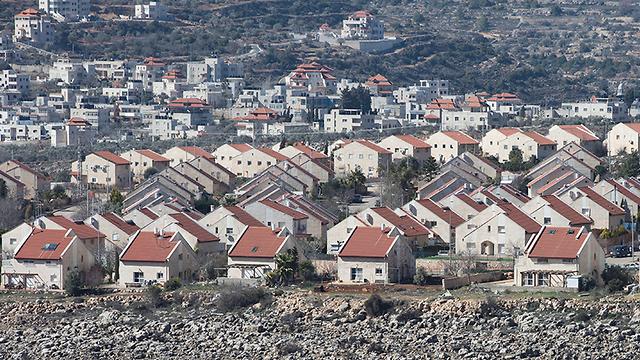 Un asentamiento israelí en Judea y Samaria
