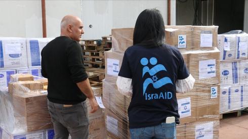 Los suministros médicos reunidos por IsraAID y sus socios fueron enviados a China