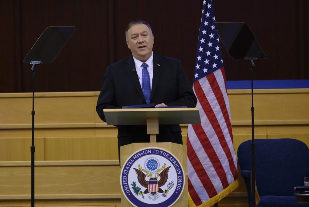 Mike Pompeo, jefe de la diplomacia de EE.UU.