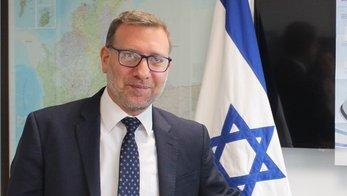 Christian Cantor, embajador de Israel en Colombia