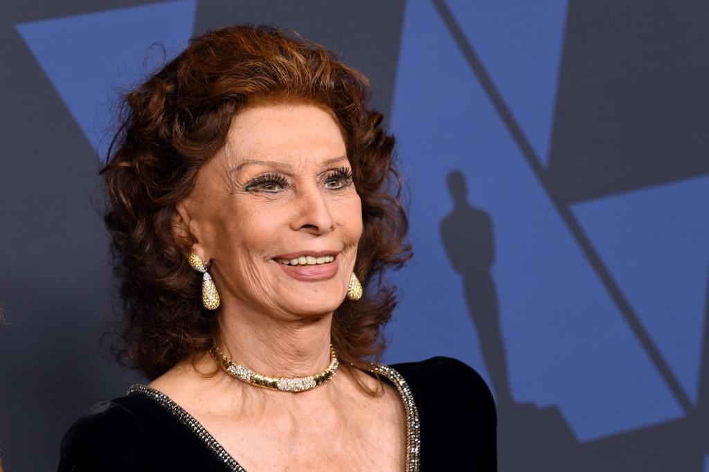 Sofia Loren trabajará por primera vez con Netflix
