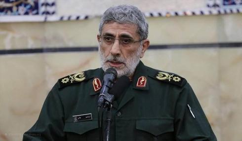 El nuevo jefe de la Fuerza Quds del IRGC, Esmail Ghaani