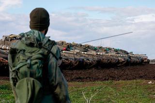Fuerzas de las FDI en la frontera siria