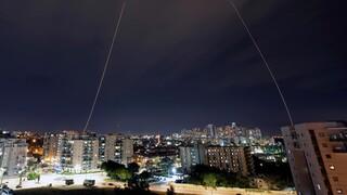 La Cúpula de Hierro intercepta cohetes sobre Ashkelon el domingo por la noche
