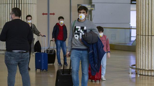 Coronavirus: Así arriban los israelíes al aeropuerto Ben Gurión
