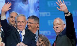 Netanyahu y Gantz