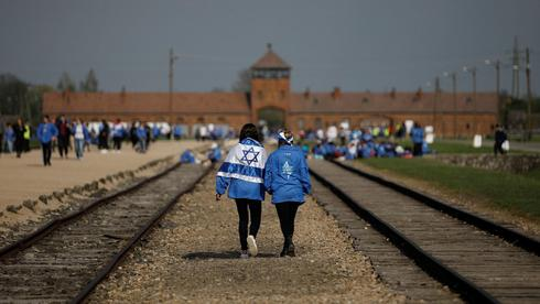 Marcha por la Vida en Auschwitz