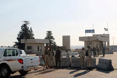 Frontera Jordania Siria