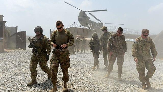Fuerzas estadounidenses en Afganistán