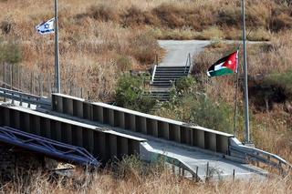 Uno de los cruces fronterizos entre Jordania e Israel