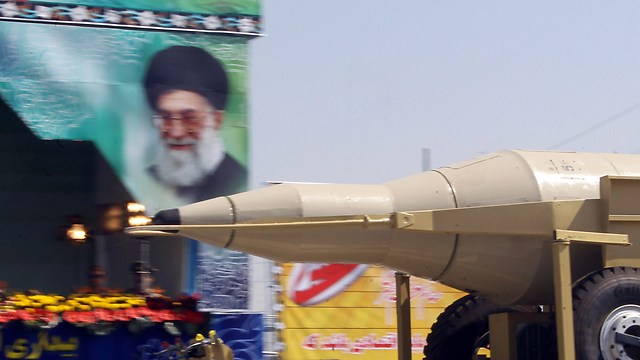 Desfile de misiles en Irán