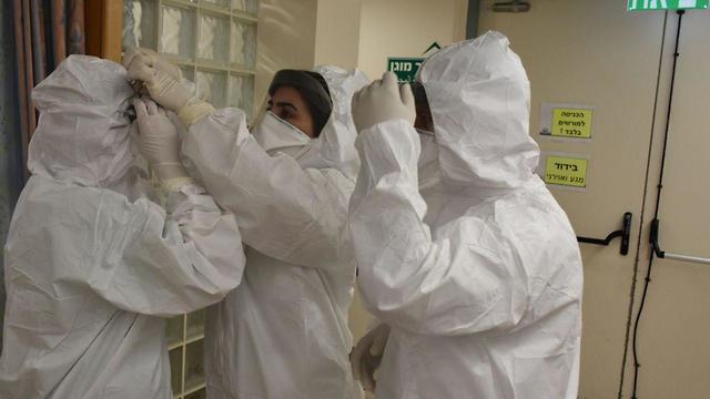 Preocupación por el coronavirus en Israel
