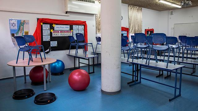 escuela vacía en Ramat gan