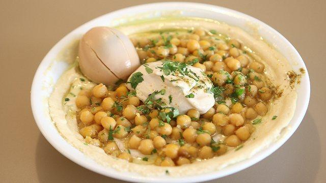 A fines de 1967 el humus se convirtió en una comida completa