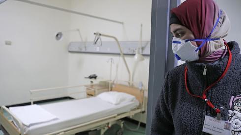 Un hospital de Beirut que se prepara para recibir pacientes con coronavirus