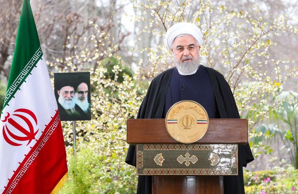 """Hassan Rouhanni, presidente de la República Islámica, anunció """"medidas difíciles""""."""