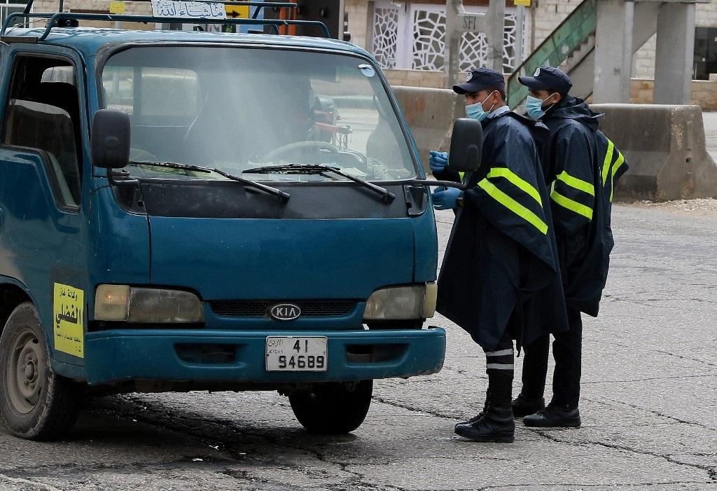 Las fuerzas de seguridad controlan las calles de la capital jordana.
