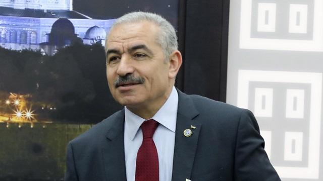 Primer ministro palestino, Mohammad Shtayyeh