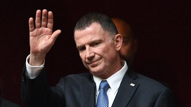 Edellstein se despide de la presidencia de la Knesset.