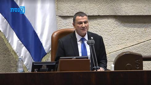 El presidente de la Knesset, Yuli Edelstein, presentó su renuncia al Parlamento.