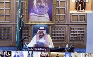 El rey Salmán, de Arabia Saudita