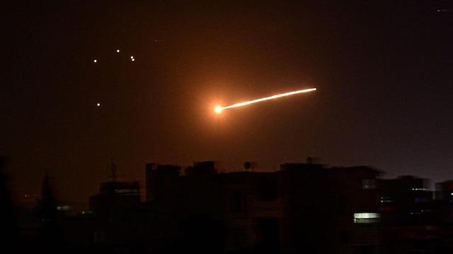 Agencias sirias adjudican el bombardeo a las FDI.