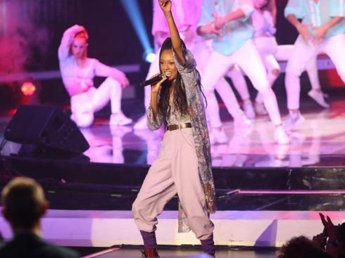 Eden Alene en el escenario.