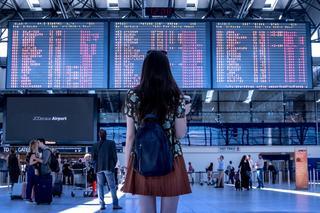 Aeropuerto, cuando había turismo y viajes.
