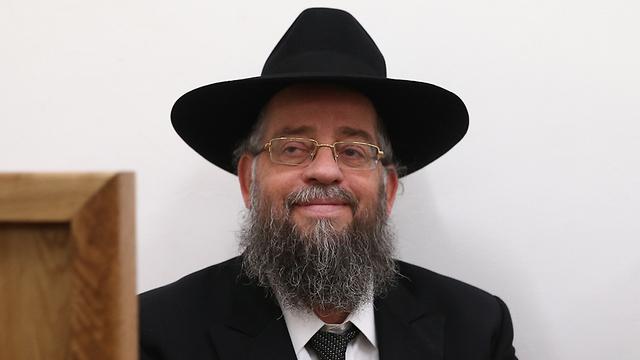El rabino Isaiah Haber lucha por su vida