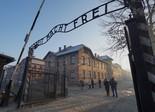 Entrada al campo de exterminio de Auschwitz.