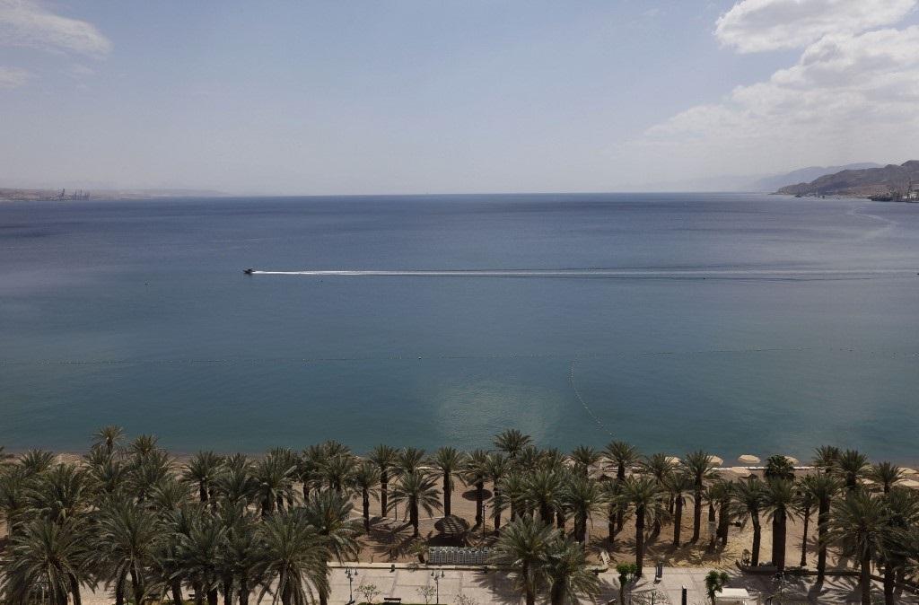 Eilat, la ciudad turística a orillas del Mar Rojo.