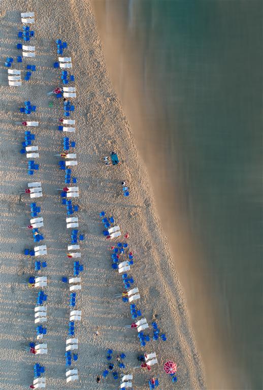 Playas vista aérea
