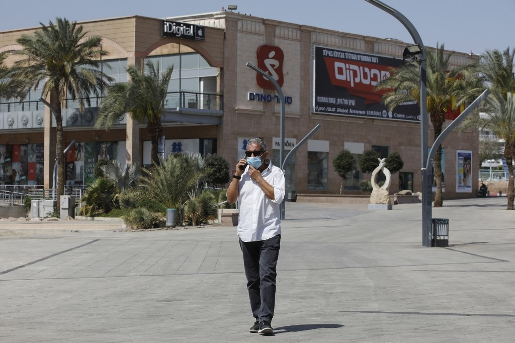 El alcalde de Eilat, Meir Yitzhak Halevi.