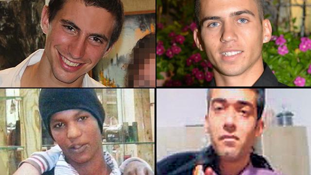 Soldados y civiles israelíes secuestrados por Hamás en Gaza (Ynet)
