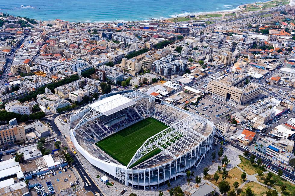 Nuevo Bloomfield, estadio de fútbol remodelado por completo, en el corazón de Jaffa.