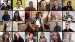 Cada uno desde su hogar, artistas argentinos homenajean a Israel en Yom Haatzmaut.