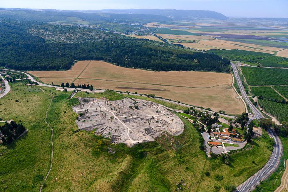 Patrimonio de la Humanidad: Tal Megido, en el Valle de Jezreel.