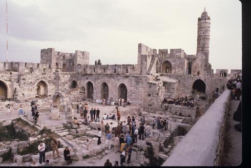 Celebraciones en la Torre de David, Jerusalem, 1979