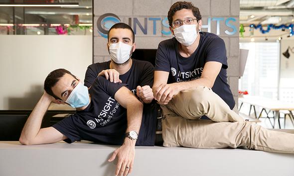 Gal Ben-David (izquierda), Alon Arvatz y Guy Nizan
