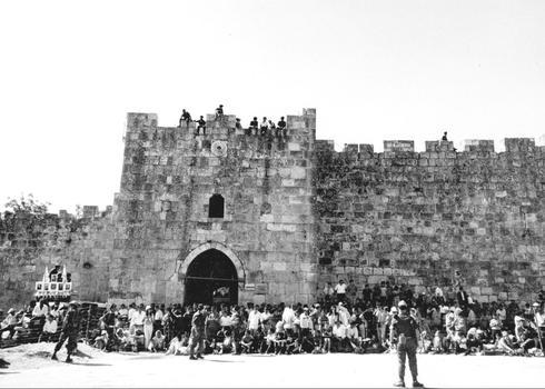 Desfile del ejército en Jerusalem, 1968.